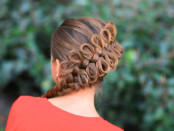 unique hairstyles for navratri